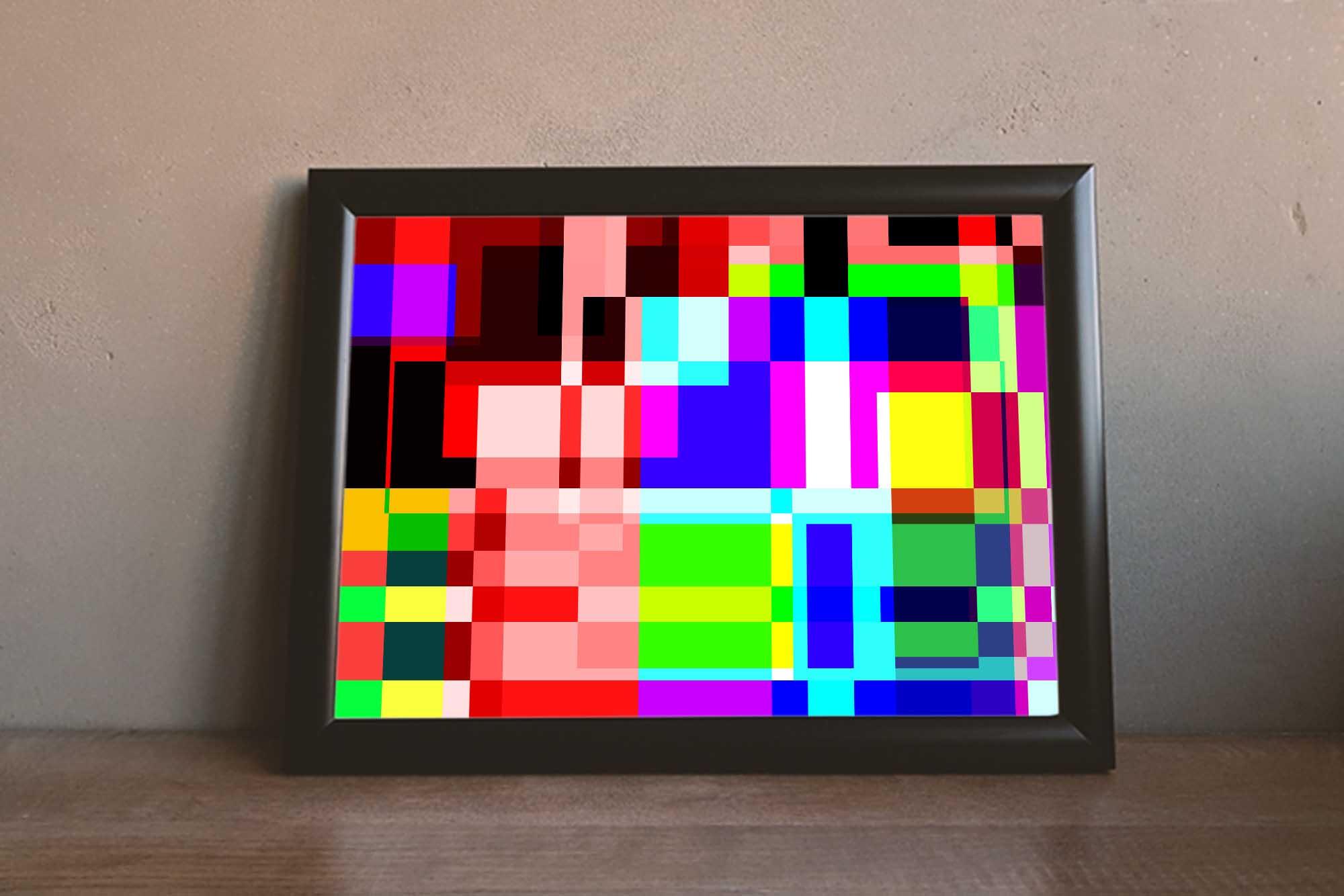 Color Experiment #2 Art Print
