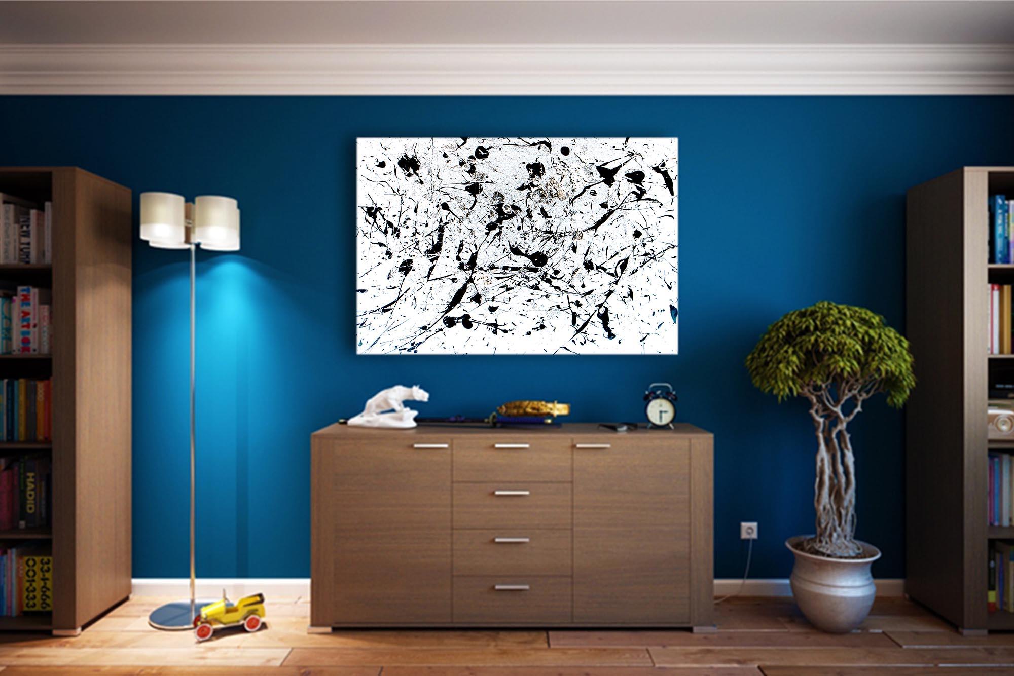Splatter Painting Art Print